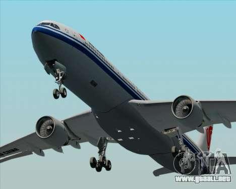 Airbus A330-300 Air China para la vista superior GTA San Andreas