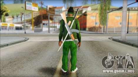New CJ v6 para GTA San Andreas segunda pantalla