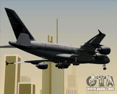 Airbus A380-861 Qatar Airways para GTA San Andreas