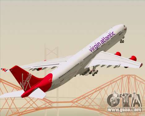 Airbus A340-313 Virgin Atlantic Airways para GTA San Andreas