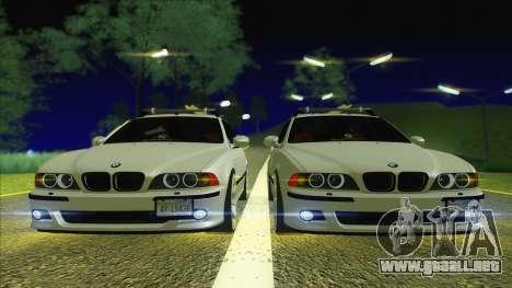 BMW M5 E39 2003 Stance para la visión correcta GTA San Andreas