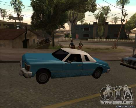 Idaho para GTA San Andreas left