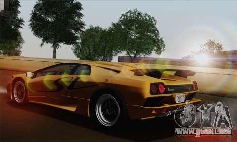Lamborghini Diablo SV 1995 (HQLM) para GTA San Andreas left