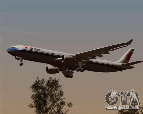 Airbus A330-300 Air China para visión interna GTA San Andreas