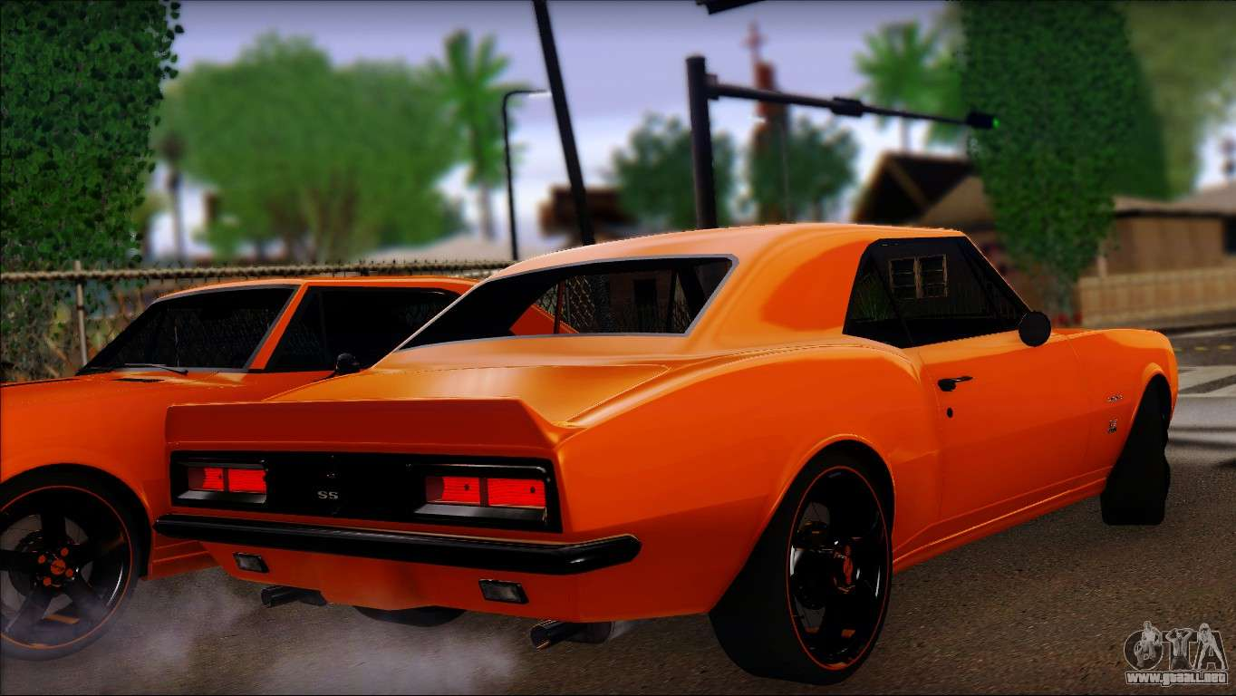 X moreover Chevy Nova Ss Trunk Emblem additionally Fc additionally Take A Look At Dale Earnhardt Jr S Classic Chevrolet Collection Video further Gta Sa. on 1967 chevrolet camaro ss