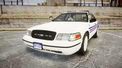 Ford Crown Victoria Alderney Police [ELS] para GTA 4