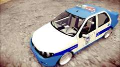 Fiat Albea Police Turkish para GTA San Andreas