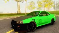 Nissan Skyline GT-R 34