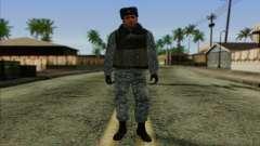 La policía rusa de la Piel 5 para GTA San Andreas
