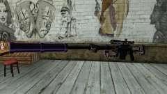 PurpleX Sniper Rifle para GTA San Andreas