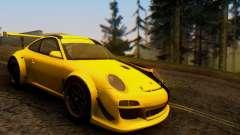 Porsche 911 GT3 R 2009 Black Yellow