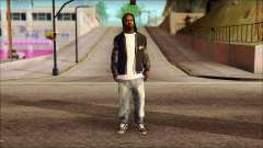 New Grove Street Family Skin v6 para GTA San Andreas