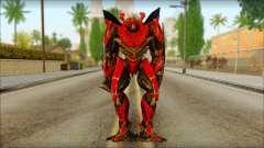 Dino Mirage (transformadores Oscuro de la luna) v1 para GTA San Andreas