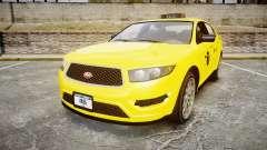 GTA V Vapid Taurus Taxi NYC