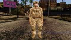 Soldados británicos (ArmA II: BAF) v2 para GTA San Andreas