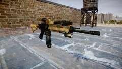 Automatic rifle Colt M4A1 de la selva