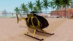 El MD500E helicóptero v2