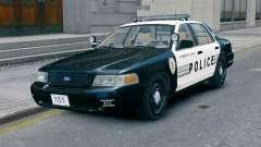 Ford Crown Victoria LCPD [ELS] No Pushbar para GTA 4