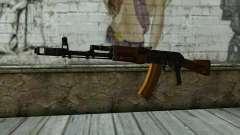 TheCrazyGamer AK74 para GTA San Andreas