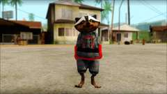 Guardians of the Galaxy Rocket Raccoon v1 para GTA San Andreas