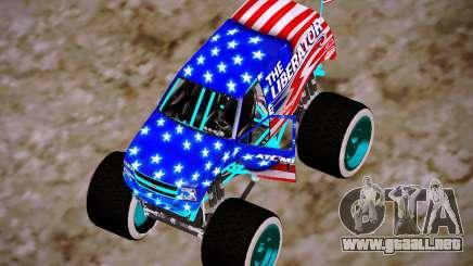 Liberator Online Version (American Flag) para GTA San Andreas