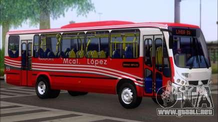Neobus Spectrum Linea 38 Mcal. Lopez para GTA San Andreas
