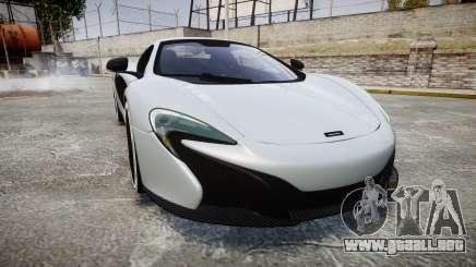 McLaren 650S Spider 2014 [EPM] KUMHO para GTA 4