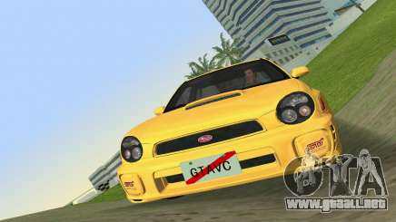 Subaru Impreza WRX 2002 Type 1 para GTA Vice City