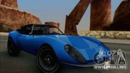 Grotti Stinger 1.0 (HQLM) para GTA San Andreas