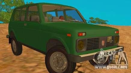 VAZ-2129 Niva 4x4 para GTA San Andreas