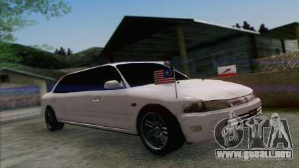 Proton Wira Official Malaysian Limousine para GTA San Andreas