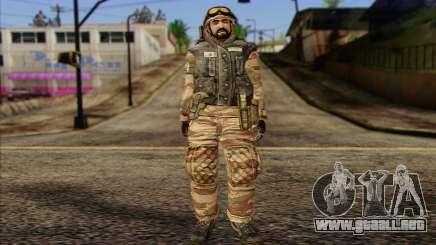 Soldados de MEK (Battlefield 2) de la Piel 3 para GTA San Andreas