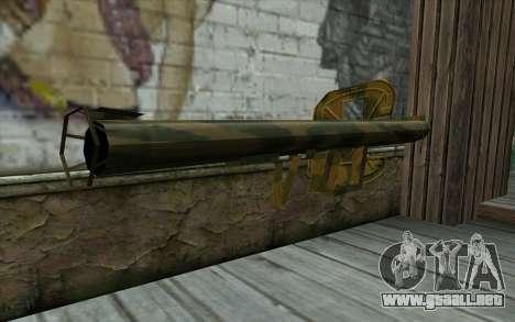 Panzerschreck desde el Día de la Derrota para GTA San Andreas segunda pantalla