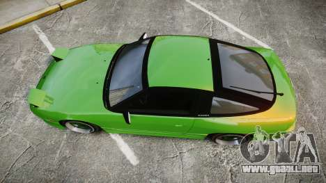 Nissan 240SX S13 Tuned para GTA 4 visión correcta
