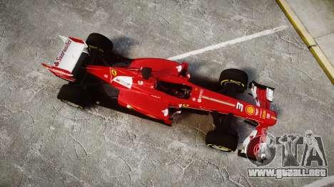Ferrari F138 v2.0 [RIV] Alonso TSD para GTA 4 visión correcta
