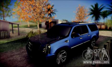 Cadillac Escalade Ninja para visión interna GTA San Andreas