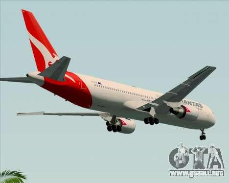 Boeing 767-300ER Qantas (New Colors) para la visión correcta GTA San Andreas