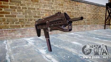 Subametralladora HK MP7 para GTA 4
