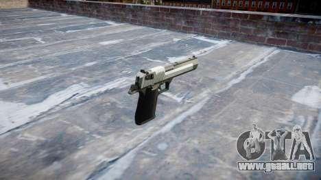 Пистолет IMI Desert Eagle Mc XIX de Dos tonos para GTA 4 segundos de pantalla