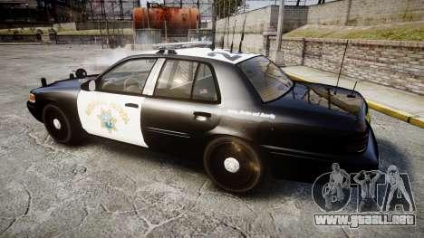 Ford Crown Victoria CHP CVPI Liberty [ELS] para GTA 4 left