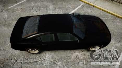 GTA V Bravado Buffalo Unmarked [ELS] Slicktop para GTA 4 visión correcta