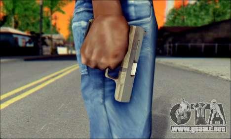 Walther P99 Bump Mapping v2 para GTA San Andreas tercera pantalla