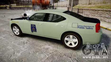 Dodge Charger 2010 Alabama State Troopers [ELS] para GTA 4 left