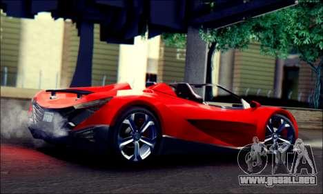 Specter Roadster 2013 (SA Plate) para GTA San Andreas left