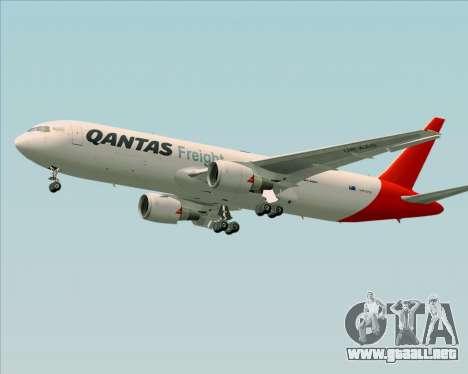 Boeing 767-300F Qantas Freight para el motor de GTA San Andreas