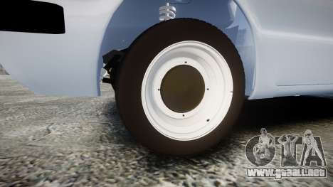ZAZ-968 para GTA 4 vista hacia atrás