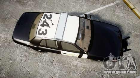 Ford Crown Victoria CHP CVPI Liberty [ELS] para GTA 4 visión correcta