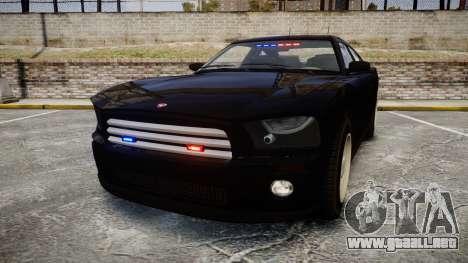 GTA V Bravado FIB Buffalo [ELS] para GTA 4