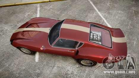 Grotti Stinger GT para GTA 4 visión correcta