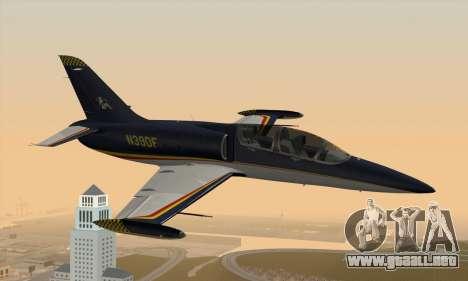 Aero L-39C para GTA San Andreas left